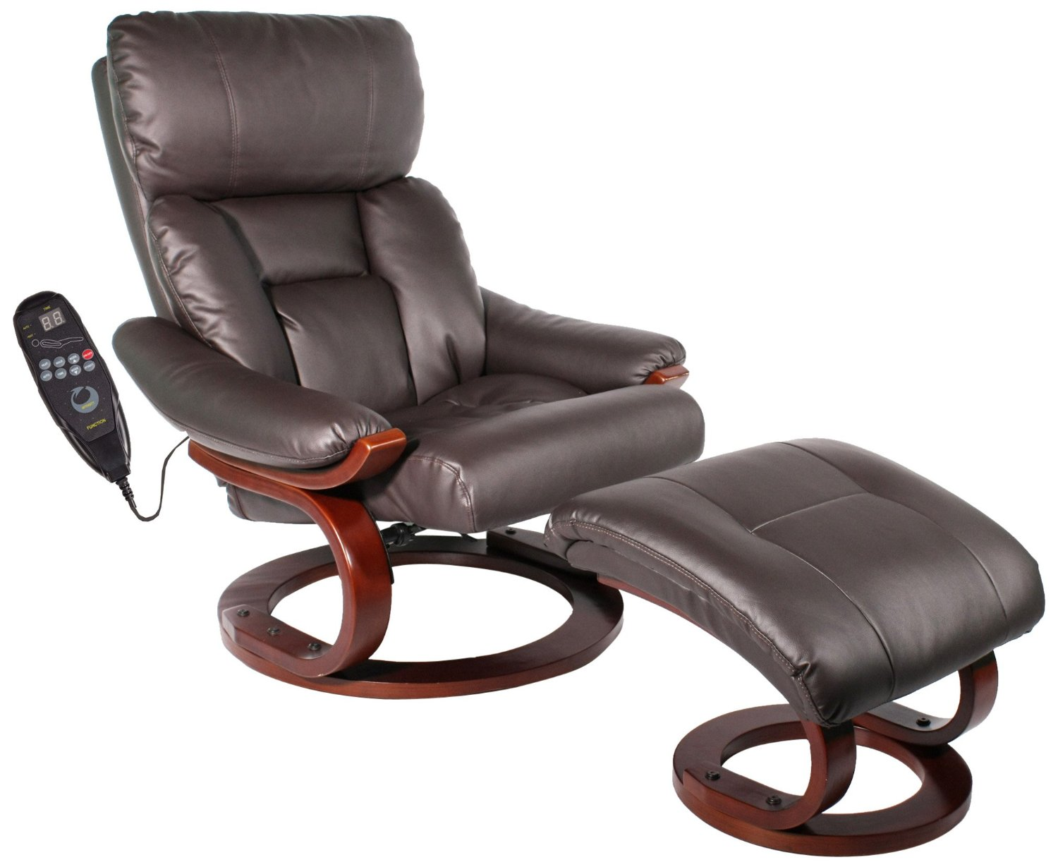 Comfort Vantin Deluxe Massaging Recliner And Ottoman